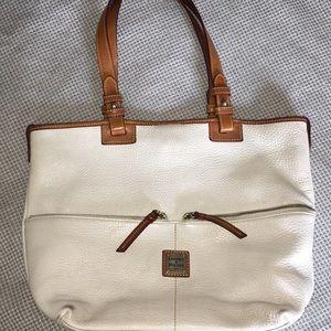 Dooney & Bourke leather tote bag.